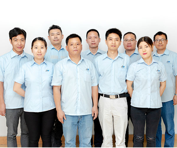 Rycom's employees group photo
